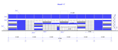 Разработка проектной документации торгового здания